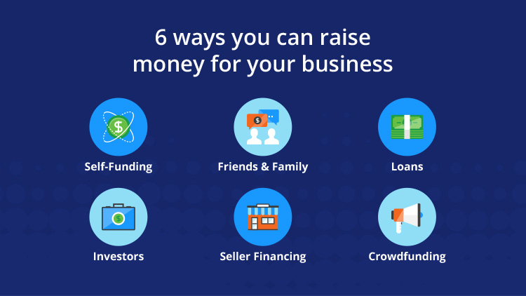 6 ways to raise money for you business